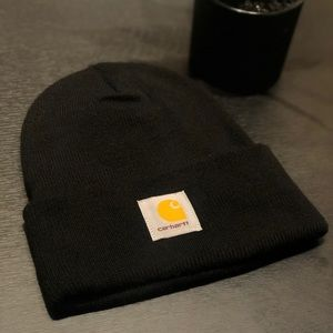 Carhartt Black Beanie - Never worn